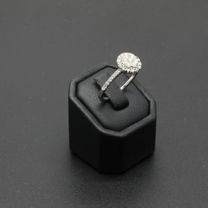 9 carat WG Diamond Cluster Ring