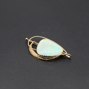 Vintage Solid Opal Pendant/Brooch