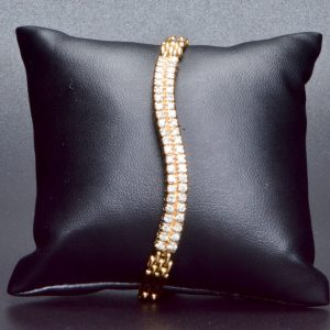 9 Carat Diamond Set Bracelet