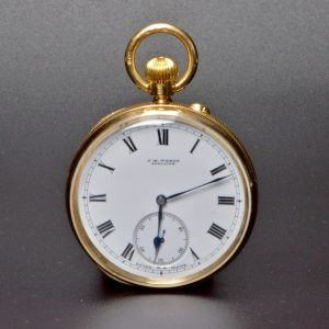 15 Carat Wendts Adelaide Pocket Watch