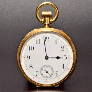 "18 Carat ""1879"" Pocket Watch"