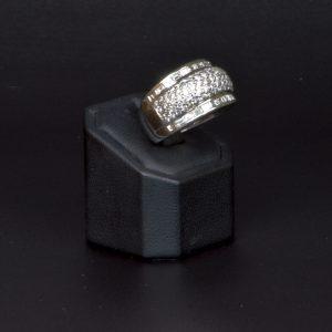 18 carat white gold Multi Stone Diamond Ring